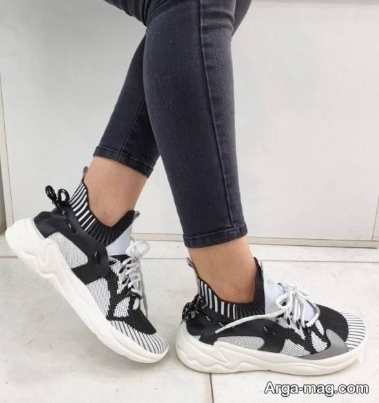 نمونه کفش اسپرت دخترانه