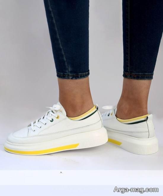 سری جدید کفش های کتانی دخترانه