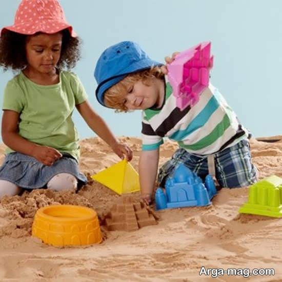 اهمیت شن بازی برای کودکان