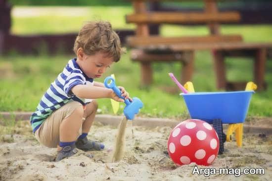 مهمترین فواید بازی با شن برای بچه ها