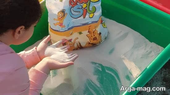 اثرات مثبت شن بازی برای بچه ها