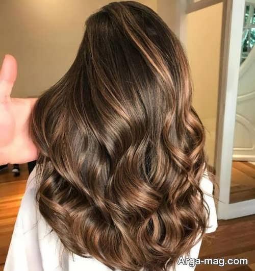 مدل مو بلند برای پوست سبزه