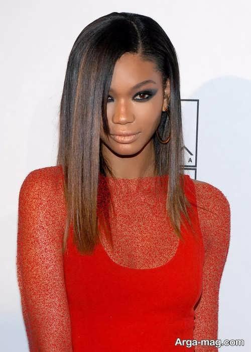 کوتاهی مو بلند برای پوست سبزه