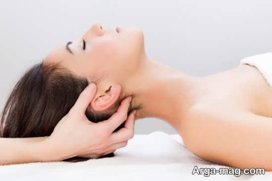 تاثیرات مختلف مالش سر در تقویت مو