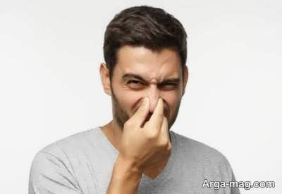درمان های خانگی بوی بد بینی