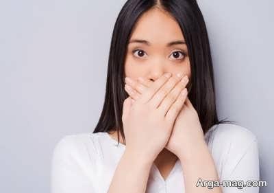 علاج خانگی بوی بد بینی
