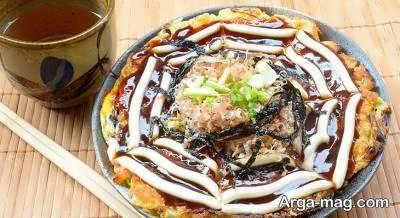 طرز پخت پیتزا ژاپنی به روشی آسان