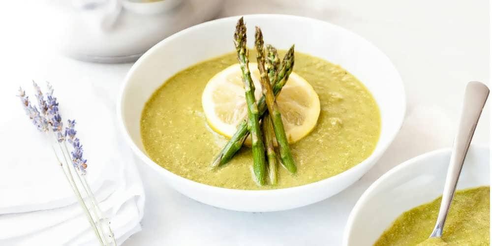 آموزش طرز تهیه سوپ مارچوبه