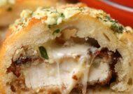 آموزش طرز تهیه ساندویچ مرغ پنیری