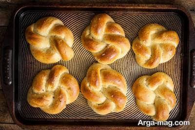 طرز تهیه نان فانتزی
