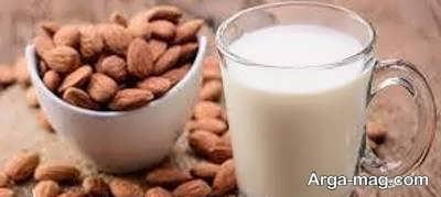 آموزش طرز تهیه شیر بادام هندی