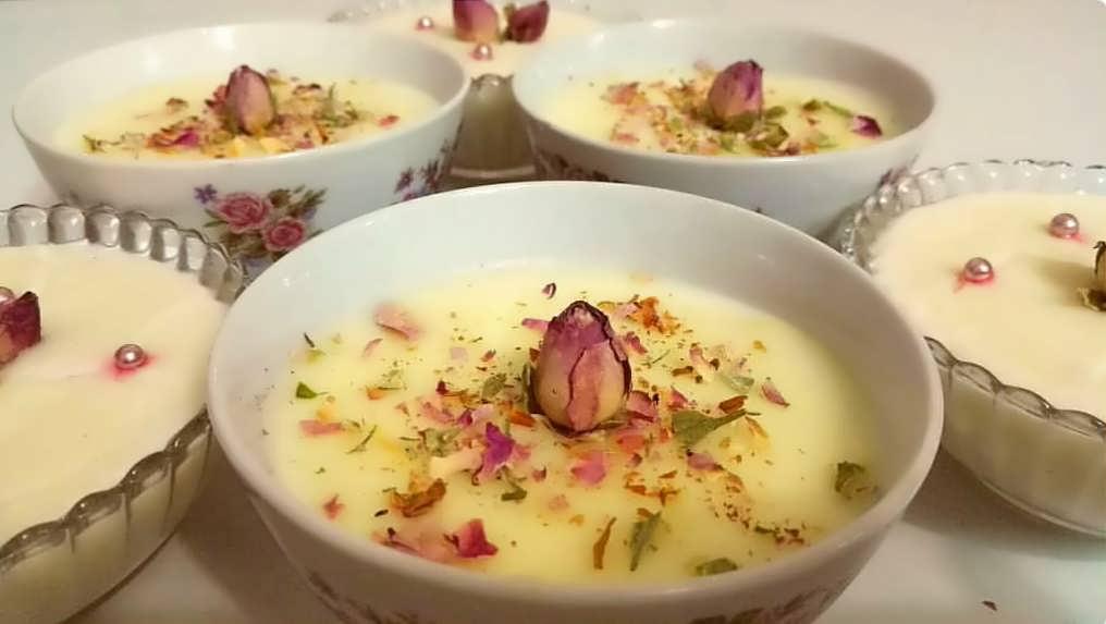 طرز تهیه دسر برای افطار در ماه مبارک رمضان