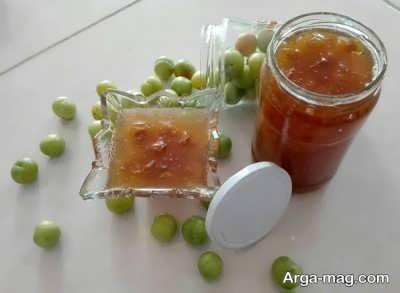 دستور تهیه مربای گوجه سبز