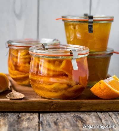 آموزش طریقه و روش تهیه ترشی پرتقال
