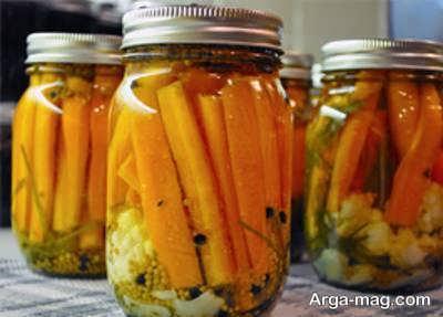 آموزش طریقه ی تهیه ترشی پرتقال