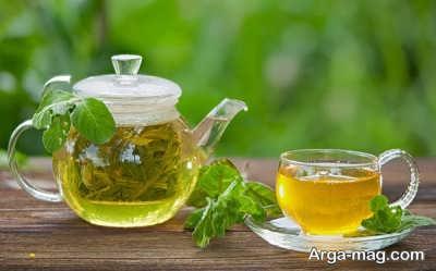 تقویت و رشد موها با چای سبز