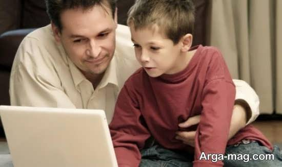 راهکارهای مقابله با خطرات اینترنت برای کودکان