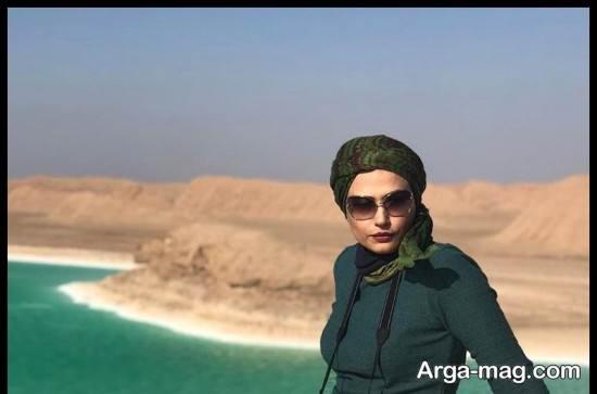 """عکس های لادن مستوفی بازیگر سریال """"پریا"""""""