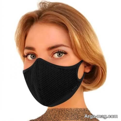 میکاپ صورت دخترانه با ماسک