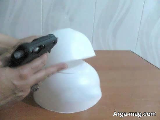 ساختن کلاه عروس ساده
