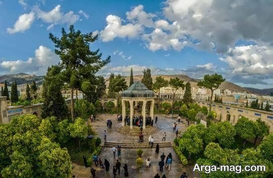 حافظیه شیراز آرامگاه حافظ در استان فارس