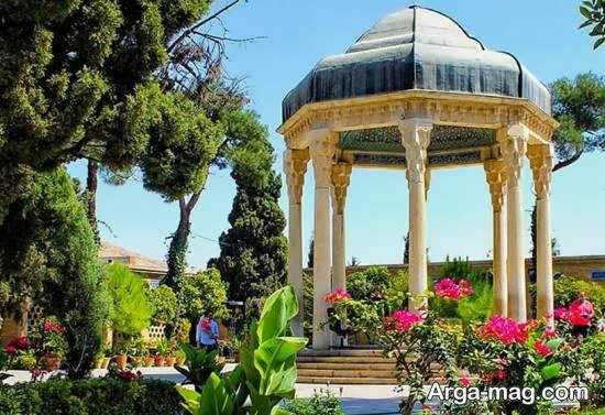 آشنایی با جاذبه ی آرامگاه حافظ در شهر شیراز