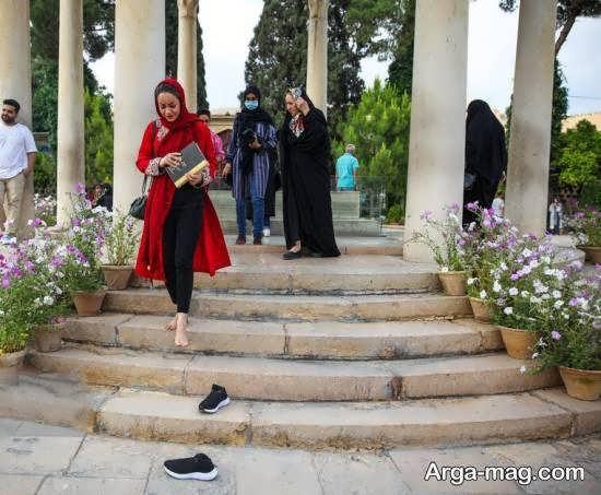 آرامگاه حافظ لسان الغیب در شیراز