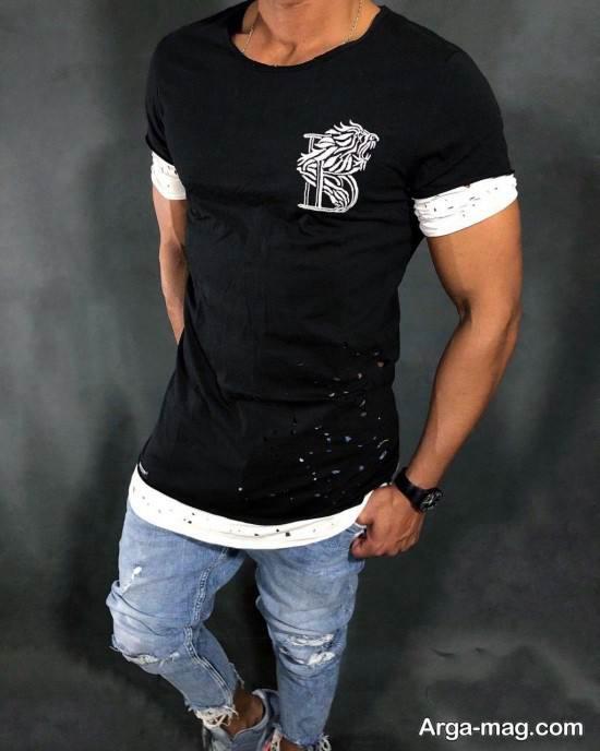 مدل های مختلف تیشرت مردانه