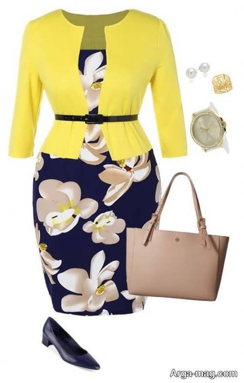 ست لباس شیک برای خانم های میانسال