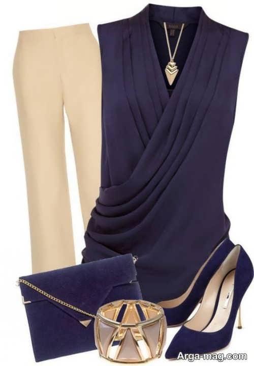 مدل لباس زیبا برای خانم های میانسال