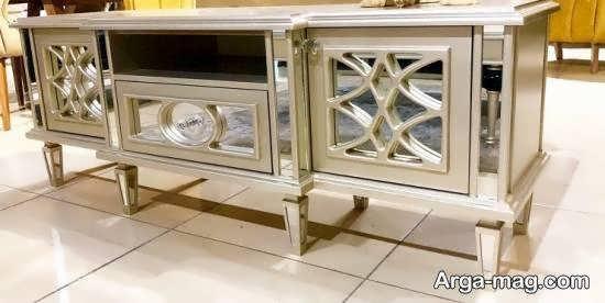 مدل میز tv آینه ای با تنوع فراوان