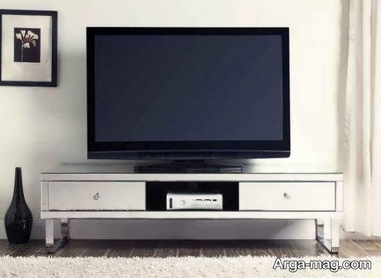 مدل میز تلویزیون آینه ای و نام بردن انواع آن