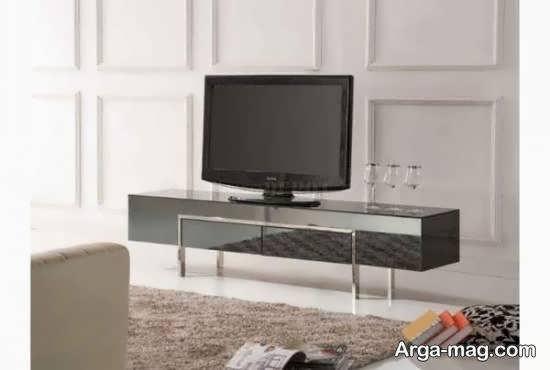 آشنایی با نمونه های جالب و بینظیر میز تلویزیون آینه ای