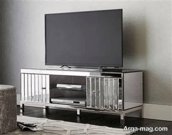 مجموعه ای ایده آل و زیبا از مدل میز تلویزیون آینه ای