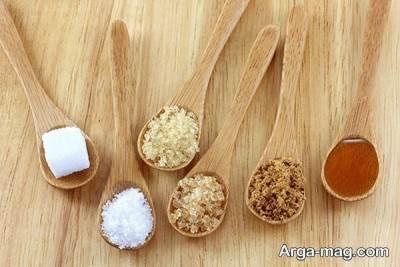 چهار نوع شیرین کننده اصلی وجود دارد.