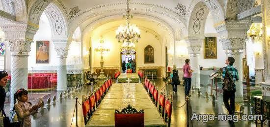 بازدید از کاخ نیاوران یکی از کاخهای دیدنی تهران