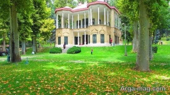 بازدید از قصر نیاوران از جاذبه های گردشگری ایران