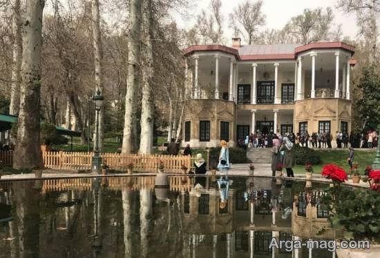 آشنایی با قصر تاریخی نیاوران