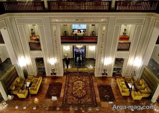 بازدید از کاخ نیاوران با نمای داخلی و خارجی