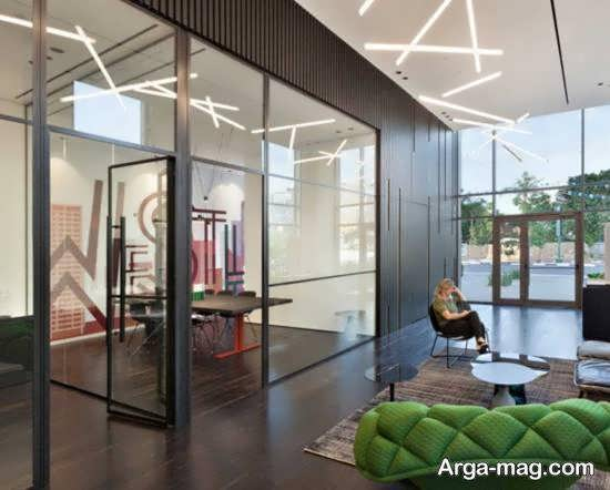 ایده هایی زیبا و کاربردی از دیزاین دفتر املاک