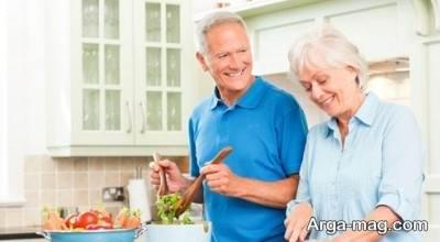 بعد از بازنشستگی به همسران خود کمک کنید.