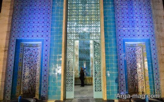 مقبره سعدی شاعر مشهور و توانا