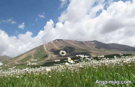 آشنایی با دیدنی های کوه و قله و شهرسهند
