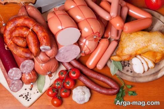 عواقب خوردن سوسیس در حاملگی