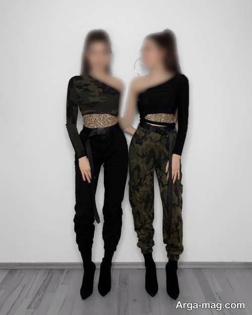 ست لباس اسپرت برای دو خواهر