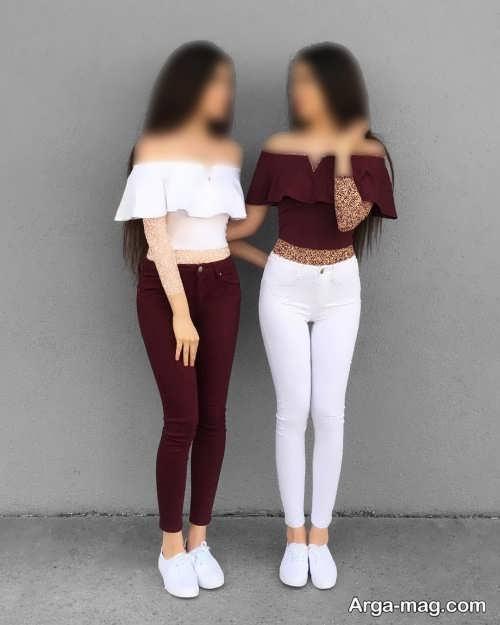 ست لباس شیک برای دو خواهر