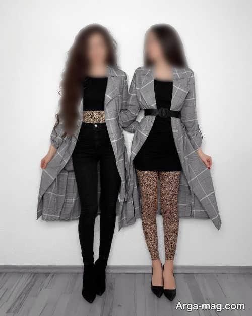 لباس مجلسی برای دو خواهر