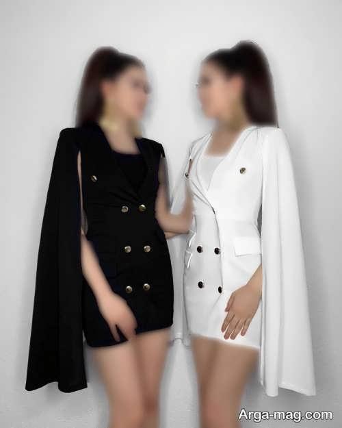 ست لباس زیبا برای دو خواهر