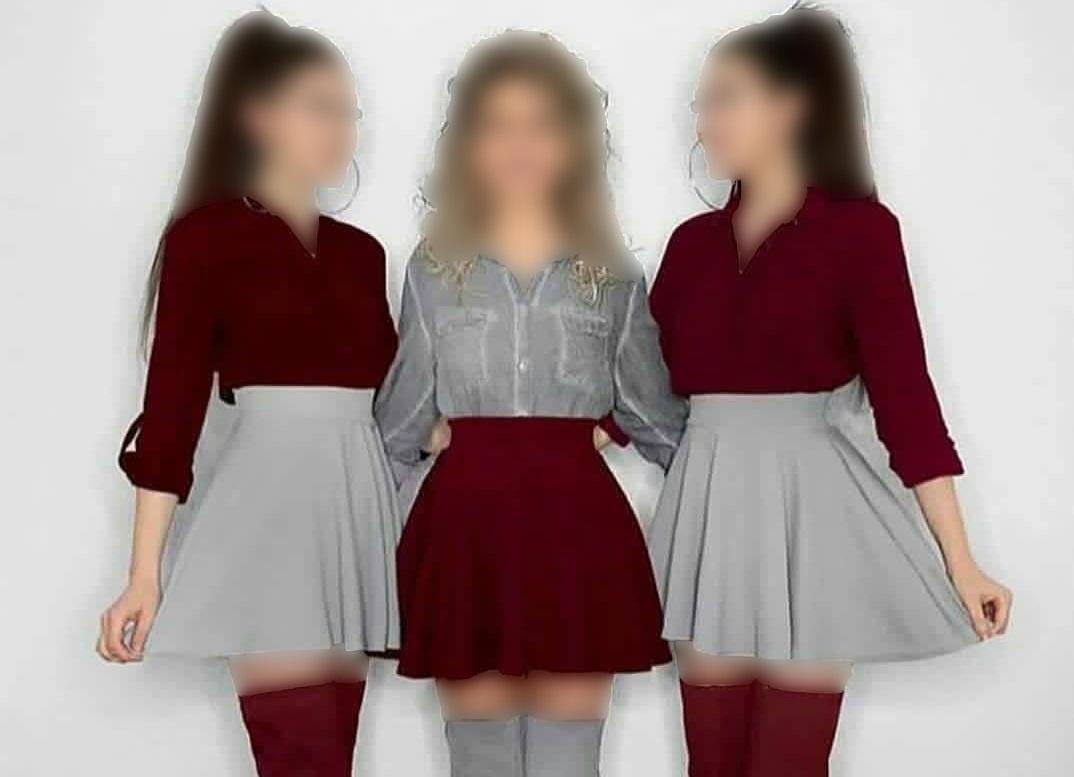 ست لباس دو خواهر