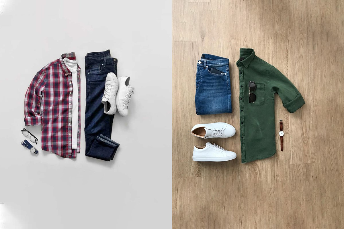 ست پیراهن و شلوار مردانه